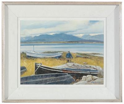 Lot 384 - Cecil Maguire - oil.
