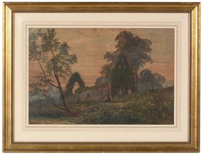 Lot 306 - John Falkner - watercolour.