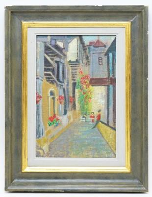 Lot 328 - Elizabeth MacDonald Buchanan - oil on canvas laid on board