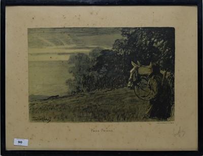 "Lot 90 - ""Snaffles"" Charles Johnson Payne - engraving."