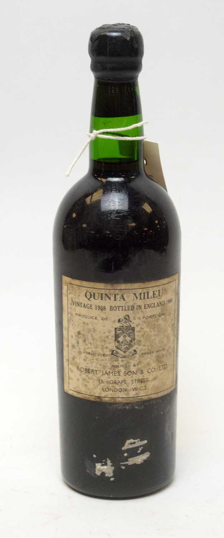 Lot 21 - Quinta Mileu Vintage Port 1958