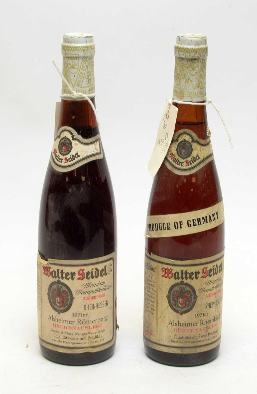 Lot 22 - Walter Seidel, Alsheimer Rheinblick