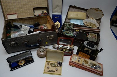 Lot 369 - Costume jewellery, watches and other items.