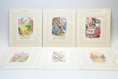 Lot 307 - After Oliver Preston - prints.