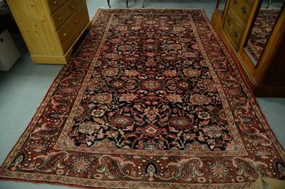 Lot 192 - A Central Persian carpet.
