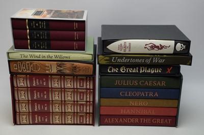 Lot 421 - A selection of folio books