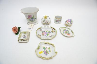 Lot 432 - Herend porcelain