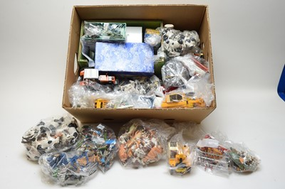 Lot 444 - Britains and other toy farm figures vehicles and other items