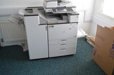 Lot 300 - Office Dispersal Auction: Ricoh MPC5503 colour copier/printer/scanner.