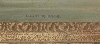 Lot 388 - Lorimer Rome - oil.