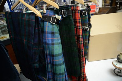 Lot 498 - Kilts and trousers