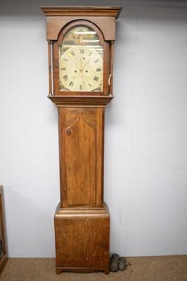 Lot 122 - 19th Century longcase clock