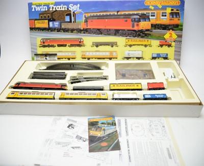Lot 462 - A Hornby Railways 00-gauge Twin Electric Train set.
