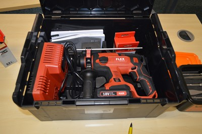 Lot 289 - Office Dispersal Auction: Flex CHE Cordless Rotary Hammer etc