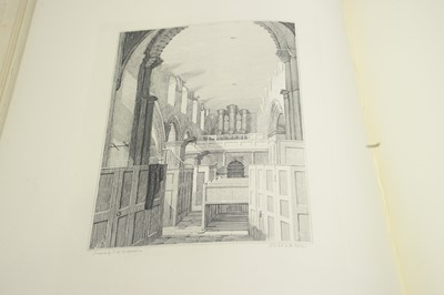 Lot 17 - Richardson (Thomas Miles, snr.) Memorials of Old Newcastle upon Tyne.