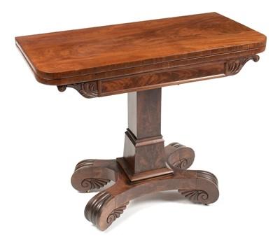 Lot 900 - Victorian mahogany tea table