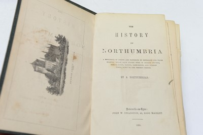 Lot 21 - The Monthly Chronicle of North-Country Lore and Legend; and other books.