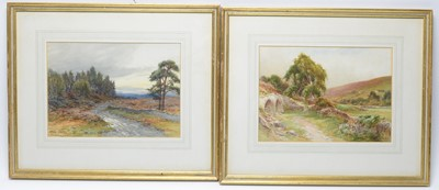 Lot 43 - Harry James Sticks - watercolours.