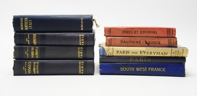 Lot 10 - Maps of France, Italy and London.