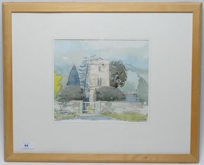 Lot 51 - Douglass Wise - watercolour.