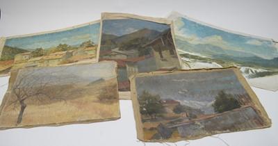 Lot 1017 - William Stanley Moore - oils.