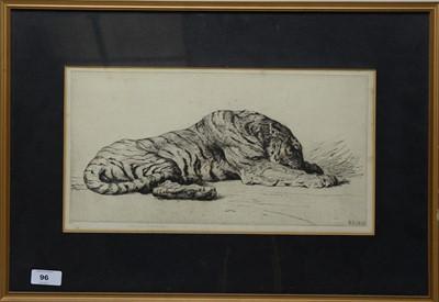 Lot 96 - Herbert Thomas Dicksee - etching.