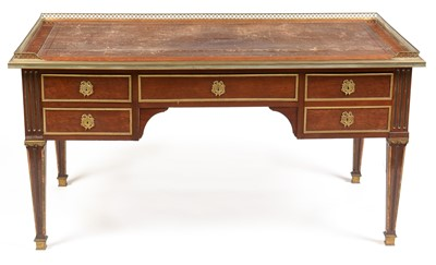 Lot 819 - George Trollope & Sons 19th Century mahogany desk