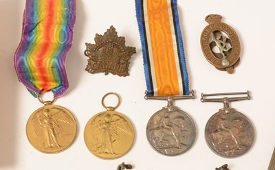 Lot 1014 - Collection of WWI and WWII war medals