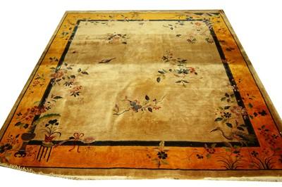 Lot 749 - Chinese carpet.