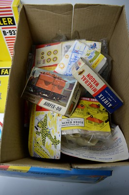 Lot 868 - Faller model railway kits; and other models and toys.
