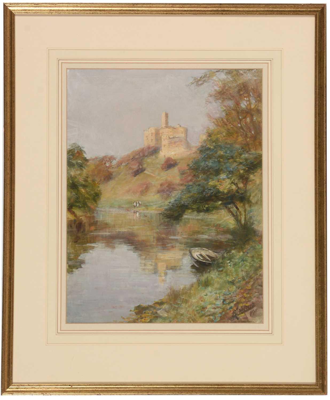 Lot 247 - Robert Jobling - watercolour.