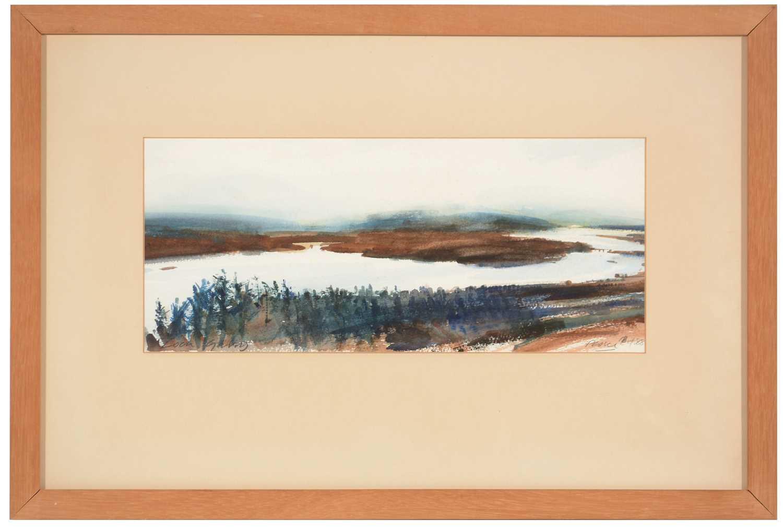 Lot 227 - John Peace - watercolour.