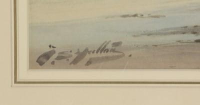 Lot 242 - Thomas Swift Hutton - watercolour.