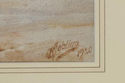 Lot 248 - Robert Jobling - watercolour.