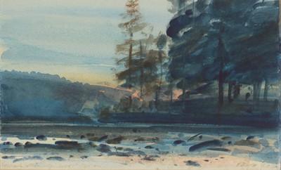 Lot 228 - John Peace - watercolour.