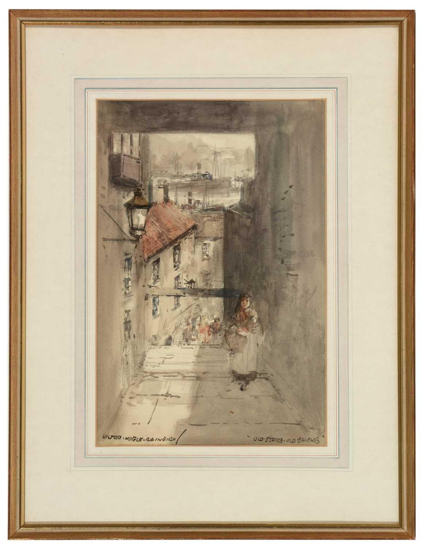 Lot 256 - Victor Noble Rainbird - watercolour.