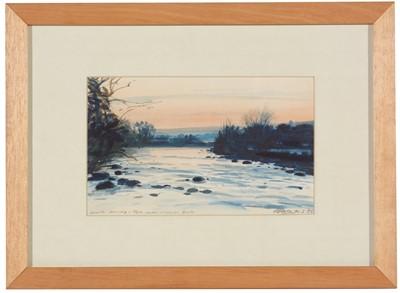 Lot 230 - John Peace - watercolour.