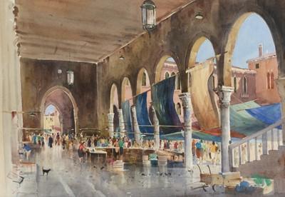 Lot 304 - John Barrie Haste - watercolour.