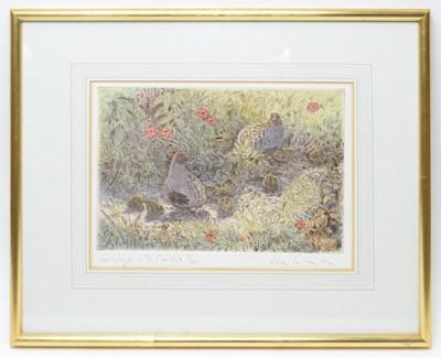 Lot 262 - Peter Partington - coloured etching