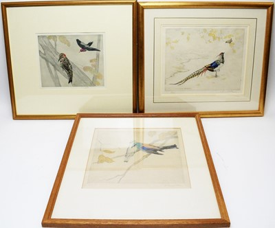 Lot 263 - George Vernon Stokes - etchings