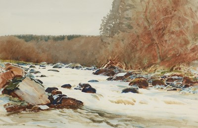 Lot 232 - John Peace - watercolour.