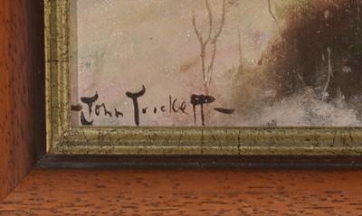 Lot 403 - John Trickett - oil.