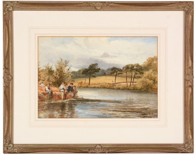 Lot 233 - John Henry Mole - watercolour.