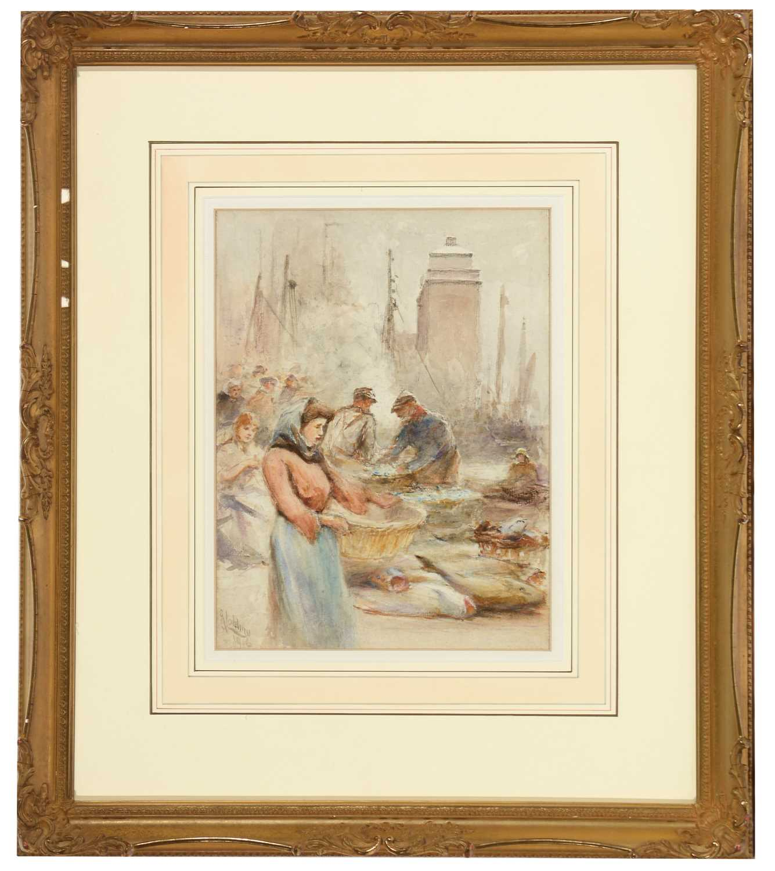 Lot 249 - Robert Jobling - watercolour.