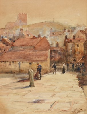 Lot 250 - Robert Jobling - watercolour.