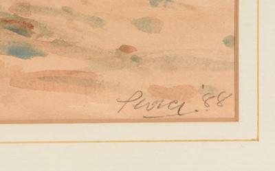 Lot 234 - John Peace - watercolour.