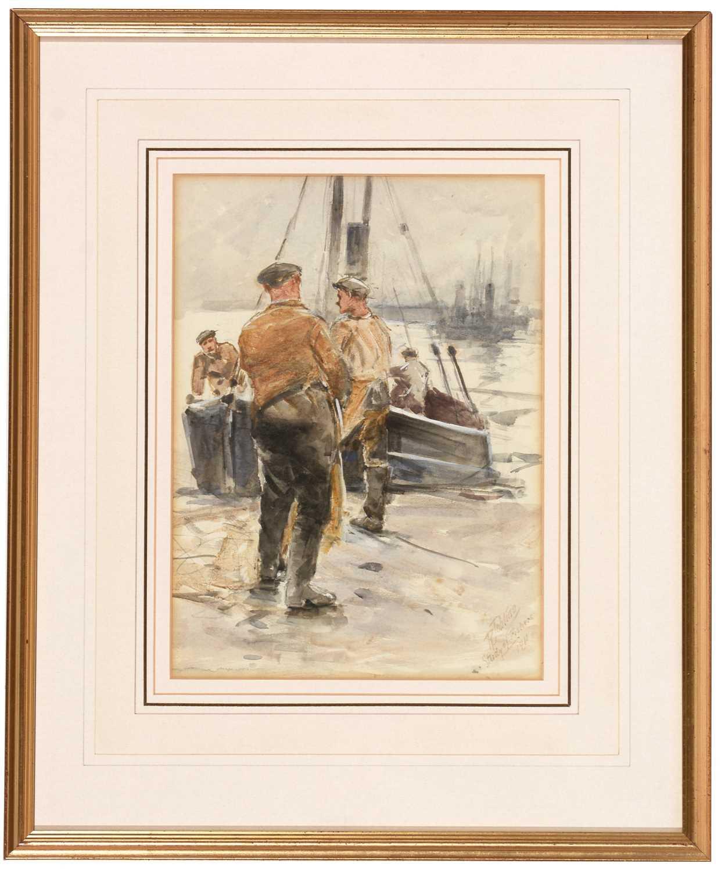 Lot 251 - Robert Jobling - watercolour.