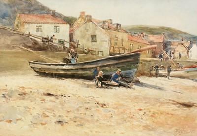 Lot 252 - Robert Jobling - watercolour.