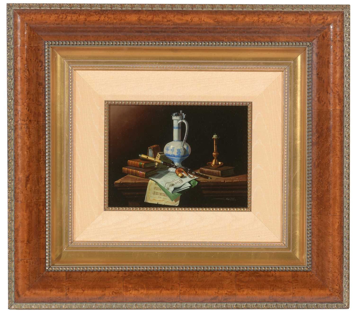 Lot 399 - Late 19th/early 20th Century German School - oil.