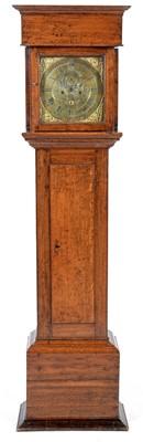 Lot 755 - John Little - An 18th Century eight day oak longcase clock